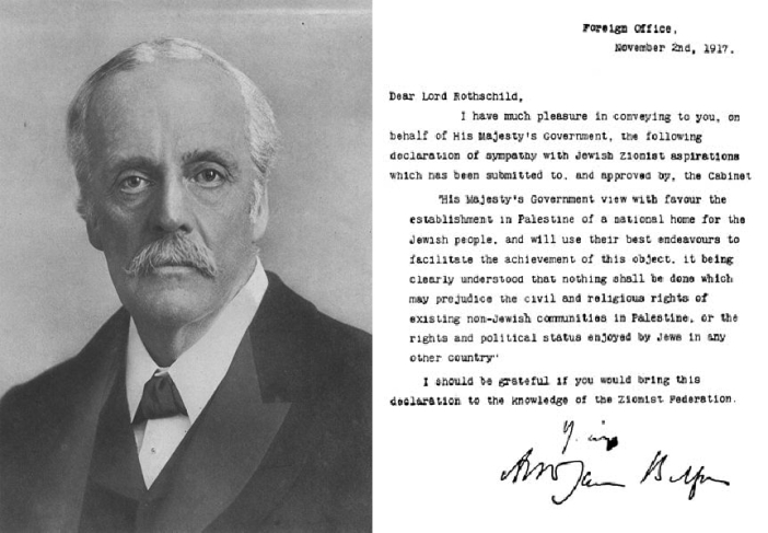Balfour Portrait and Declaration