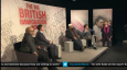 Mo Ansar, Anne Diamond and panel at the Channel 5 Big Immigration Debate