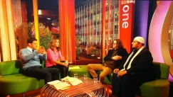 Mo Ansar, Ed Byrne, Alex Jones and Matt Baker, BBC The One Show
