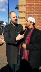 Mo Ansar and Imam Suhaib Webb